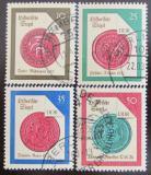 Poštovní známky DDR 1988 Historické pečetě Mi# 3156-59