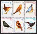 Poštovní známky Bulharsko 1987 Ptáci Mi# 3607-12