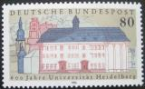 Poštovní známka Německo 1986 Univerzita Heidelberg Mi# 1299