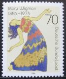 Poštovní známka Německo 1986 Mary Wigman, tanečnice Mi# 1301