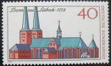 Poštovní známka Německo 1973 Katedrála v Lubecku Mi# 779