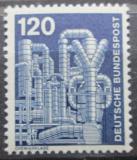 Poštovní známka Německo 1975 Chemická továrna Mi# 855