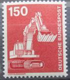 Poštovní známka Německo 1978 Bagr Mi# 992