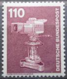 Poštovní známka Německo 1982 Televizní kamera Mi# 1134
