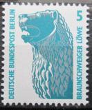 Poštovní známka Západní Berlín 1990 Brunšvický lev Mi# 863
