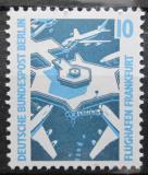 Poštovní známka Západní Berlín 1989 Letiště Frankfurt Mi# 798