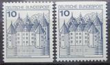 Poštovní známky Německo 1977 Zámek Glucksburg Mi# 913 C-D