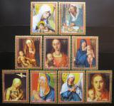 Poštovní známky Paraguay 1979 Umění, Durer Mi# 3163-71