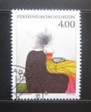 Poštovní známka Lichtenštejnsko 1995 Umění, Paul Wunderlich Mi# 1123