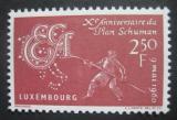 Poštovní známka Lucembursko 1960 Společnost uhlí a oceli Mi# 620
