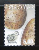 Poštovní známka Faerské ostrovy 2002 Vajíčka a kuře Mi# 427