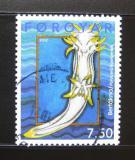 Poštovní známka Faerské ostrovy 2002 Měkkýši Mi# 419