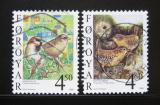 Poštovní známky Faerské ostrovy 1999 Ptáci Mi# 352-53