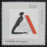 Poštovní známka Německo 1996 Akademie umění Mi# 1866