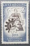 Poštovní známka Lucembursko 1955 Řemeslné umění Mi# 535