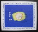 Poštovní známka DDR 1964 Sluneční aktivita Mi# Block 21