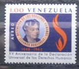 Poštovní známka Venezuela 1969 Eleanor Rooseveltová Mi# 1555