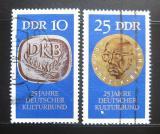 Poštovní známky DDR 1970 Německý kulturní spolek Mi# 1592-93 Kat 10€