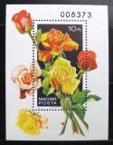 Poštovní známka Maďarsko 1982 Růže Mi# Block 156