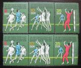 Poštovní známky DDR 1974 MS v házené Mi# 1928-30