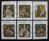 Poštovní známky Paraguay 1968 Umění Mi# 1801-06