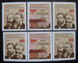 Poštovní známky DDR 1975 Gotha kongres Mi# 2050-52