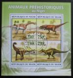 Poštovní známky Niger 2012 Dinosauři Mi# 2177-80 Kat 12€