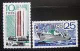 Poštovní známky DDR 1976 Lipský veletrh Mi# 2119-20