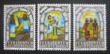 Poštovní známky Lichtenštejnsko 1984 Vánoce Mi# 861-63