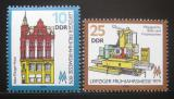 Poštovní známky DDR 1979 Lipský veletrh Mi# 2403-04