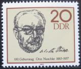 Poštovní známka DDR 1983 Otto Nuschke Mi# 2774