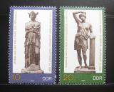 Poštovní známky DDR 1983 Umělecká díla Mi# 2790-91