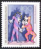 Poštovní známka Německo 1992 Amatérská divadla Mi# 1626