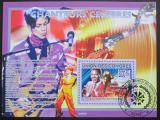Poštovní známka Komory 2009 Slavní zpěváci Mi# Block 493 Kat 15€
