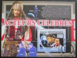 Poštovní známka Komory 2009 Slavní herci Mi# Block 500 Kat 15€