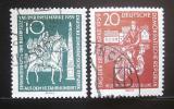 Poštovní známky DDR 1959 Den známek Mi# 735-36
