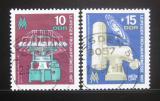 Poštovní známky DDR 1967 Lipský veletrh Mi# 1254-55