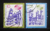 Poštovní známky DDR 1971 Lipský veletrh Mi# 1700-01