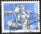 Poštovní známka Švýcarsko 1993 Výrobce sýrů Mi# 1510 Kat 4.50€