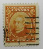 Poštovní známka Kanada 1927 John A. MacDonald Mi# 118