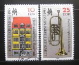 Poštovní známky DDR 1985 Lipský veletrh Mi# 2963-64