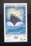 Poštovní známka Francie 1982 Mezinárodní filmový festival Mi# 2334