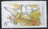 Poštovní známka Slovensko 2002 Holub a holubice Mi# 430