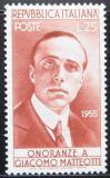 Poštovní známka Itálie 1955 Giacomo Matteotti Mi# 951