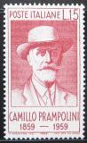 Poštovní známka Itálie 1959 Camillo Prampolini Mi# 1038