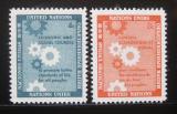 Poštovní známky OSN New York 1958 Ekonomická rada Mi# 72-73
