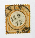 Poštovní známka Německo 1872 Císařská orlice Mi# 18 Kat 12€