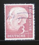 Poštovní známka Německo 1954 Prezident Heuss Mi# 721