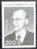 Poštovní známka Itálie 1981 Alcide de Gasperi, politik Mi# 1743