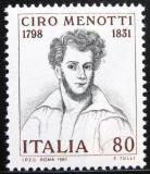 Poštovní známka Itálie 1981 Ciro Menotti Mi# 1751